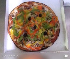 pizzas base coulis de tomate maison orientale